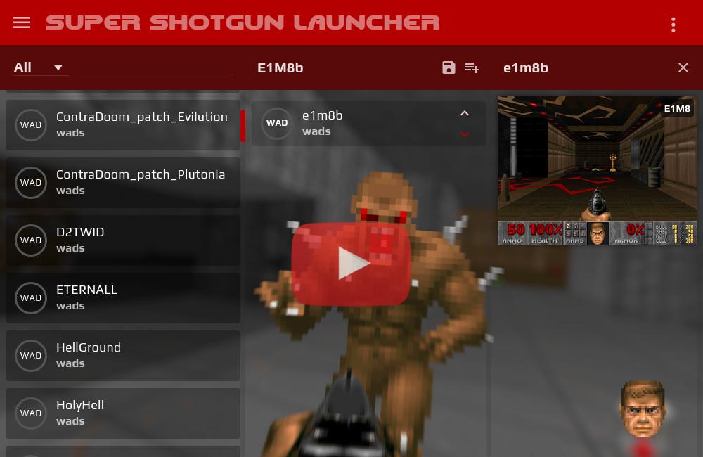 scar45 com/Super Shotgun Launcher :: Frontend for classic